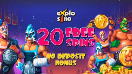 Explosino Casino no Deposit Bonus