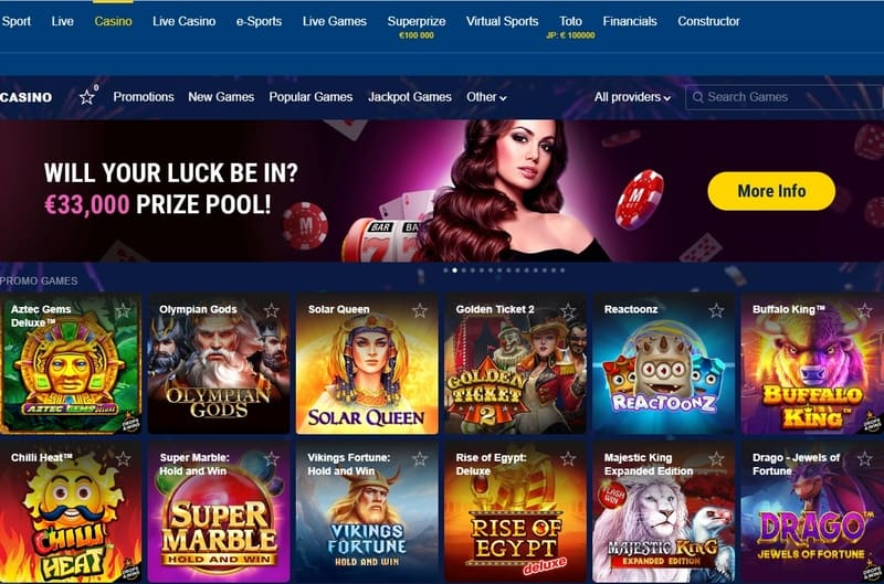 Marathon Bet Casino & Sports