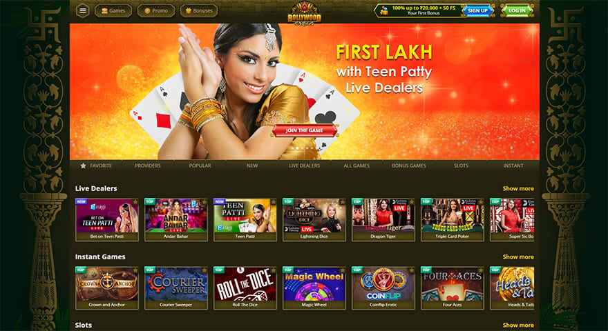 Bollywood Online Casino Review by Casinoid.in