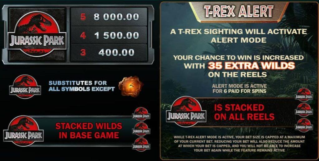Jurassic Park T-Rex Alert