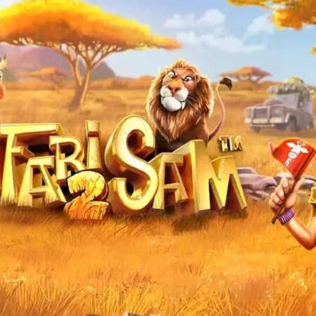 Betsoft's Safari Sam 2 slot machine will take you into the wild